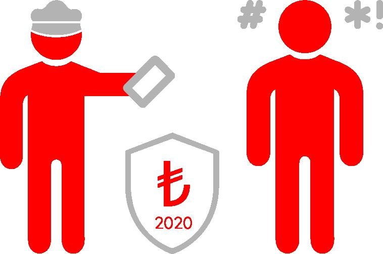 is kazasi bildirmeme cezasi 2020